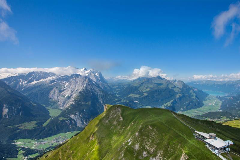 View from Alpen Tower, near Meiringen