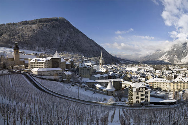 A winter's view of Chur