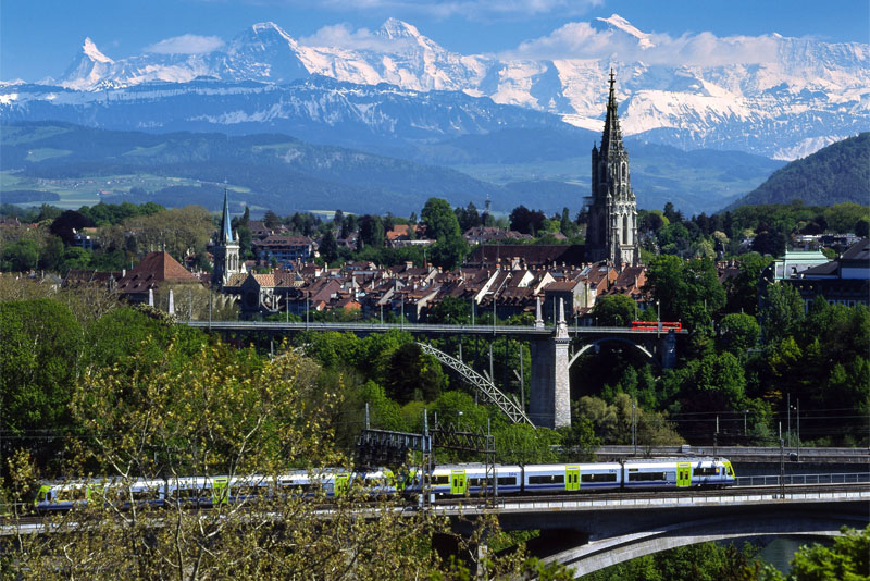 View over Bern