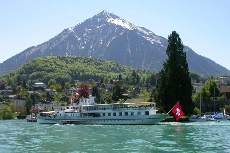 Cruising to Spiez