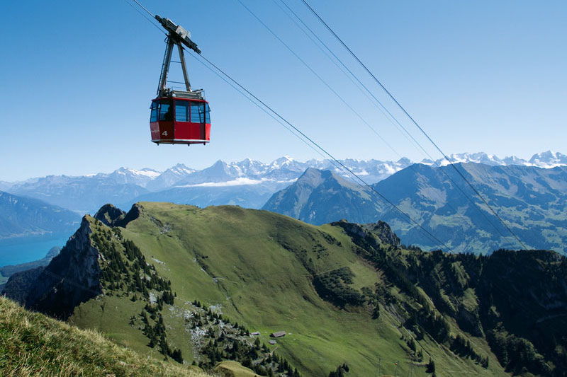 Stockhorn cable car