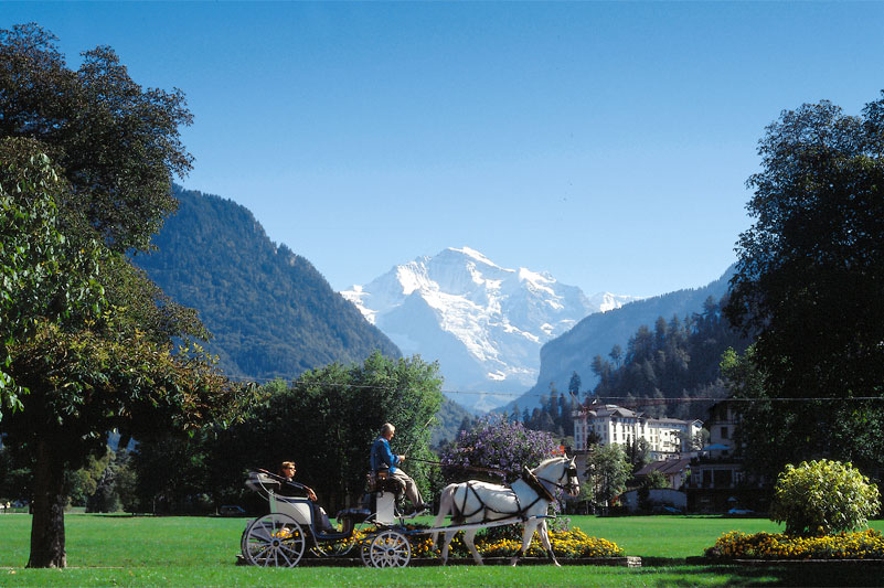 Carriage ride in Interlaken