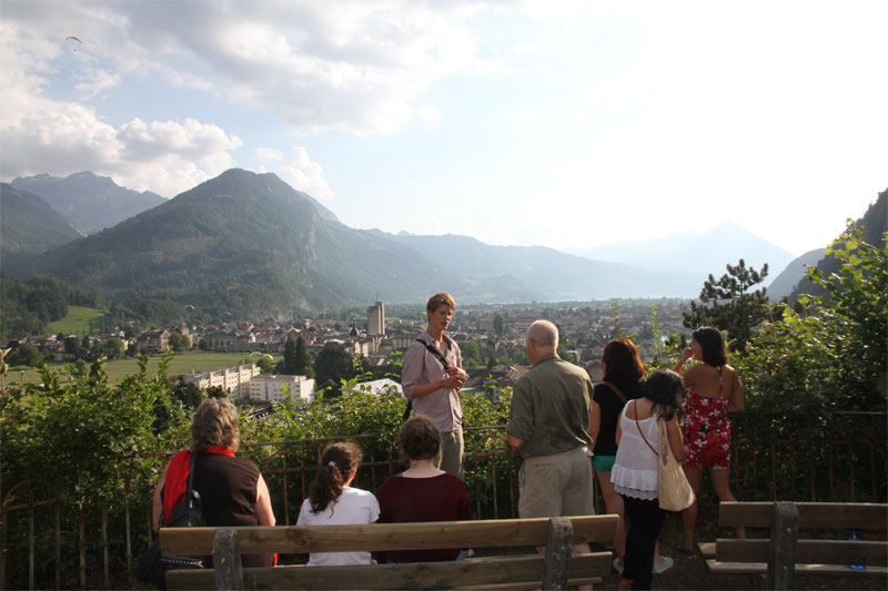 Free walking tour, Interlaken