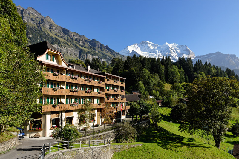 Welcome to the historic Hotel Alpenrose