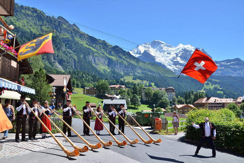 Traditional Wengen