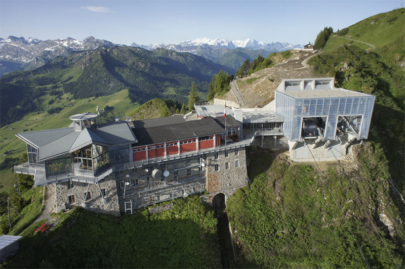 Mountain station, Stanserhorn