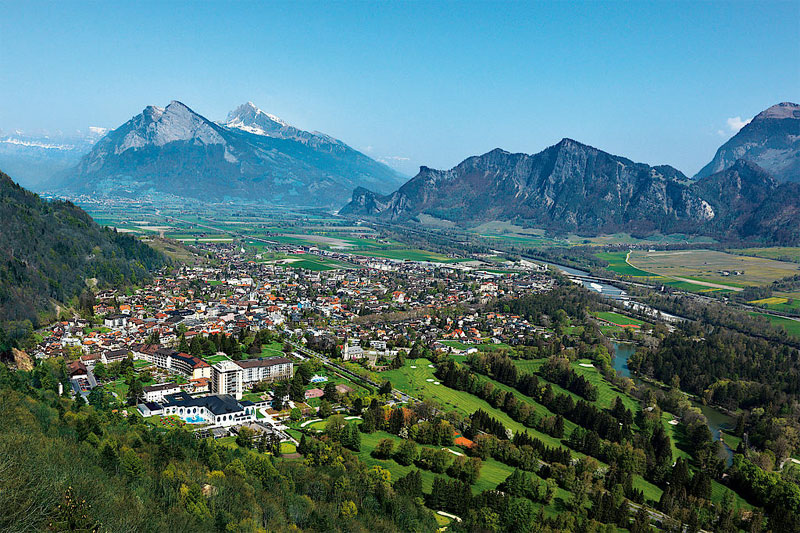 View over Bad Ragaz
