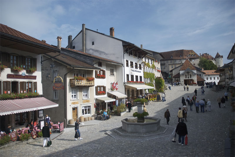 Gruyères village