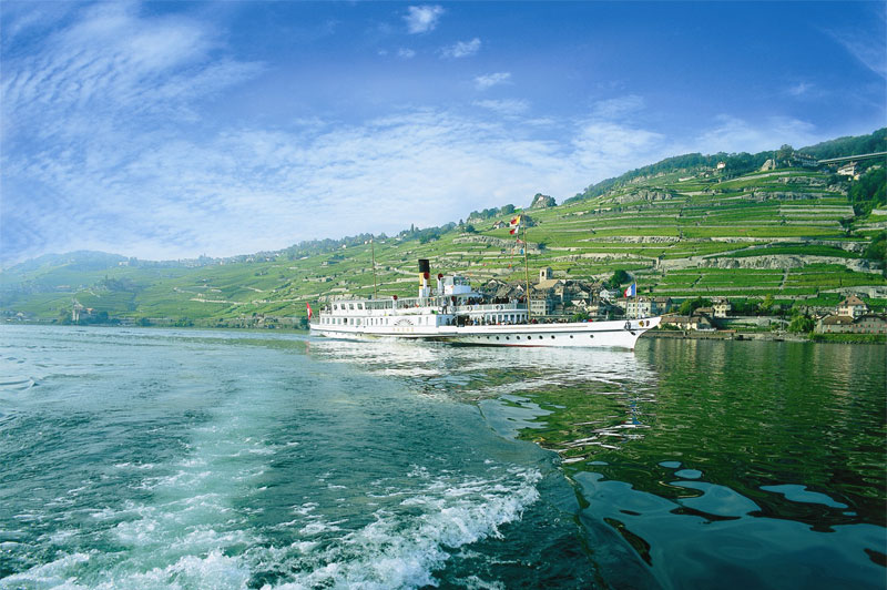 A cruise on Lake Geneva