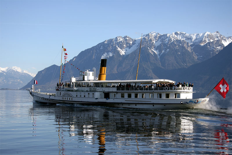 Cruises operate year round on Lake Geneva