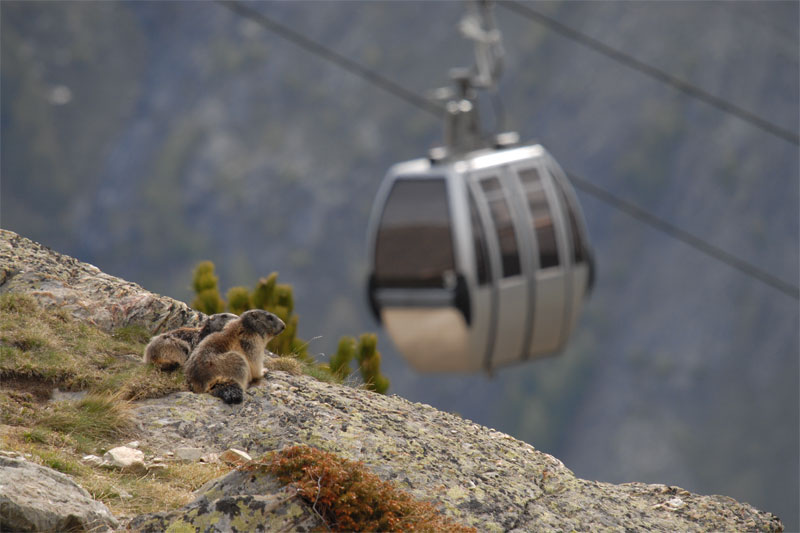 Hannig cable car