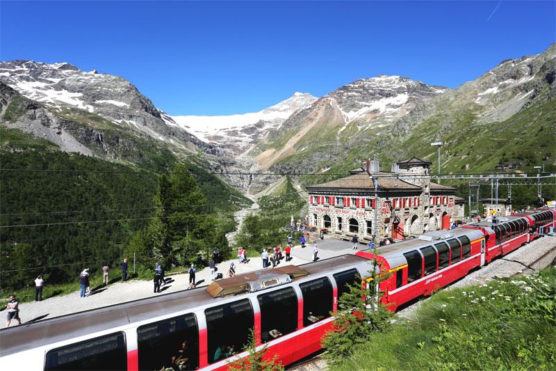 Bernina Express Scenic Rail Holidays Swiss Holiday Company