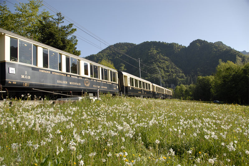 Classic carriages of the GoldenPass Line