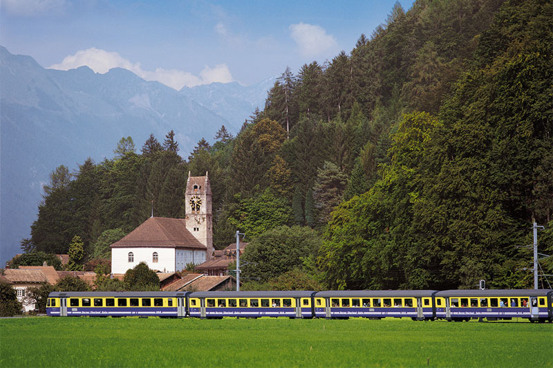 Berner Oberland Bahn at Wilderswil