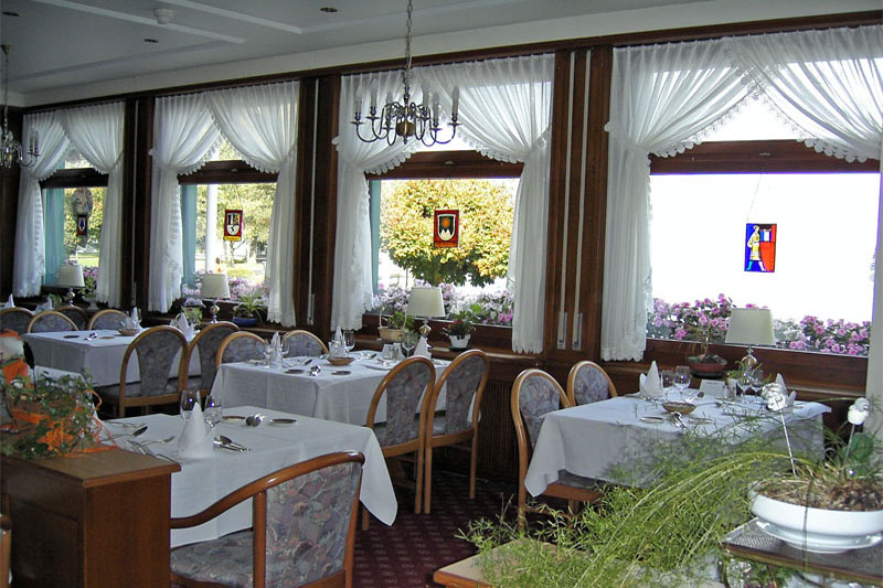 Enjoy your meal in the hotel restaurant