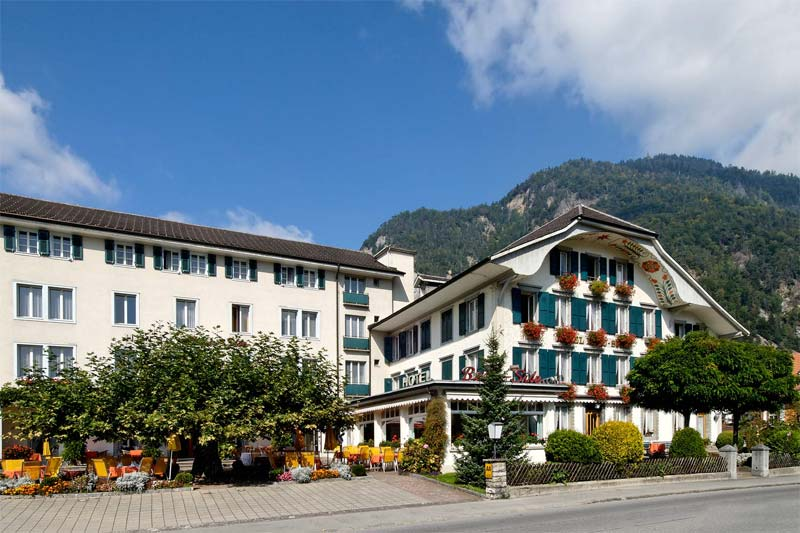 The Beausite is a chalet style hotel in Interlaken