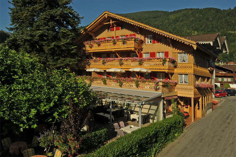 The charming Hotel Alpenblick