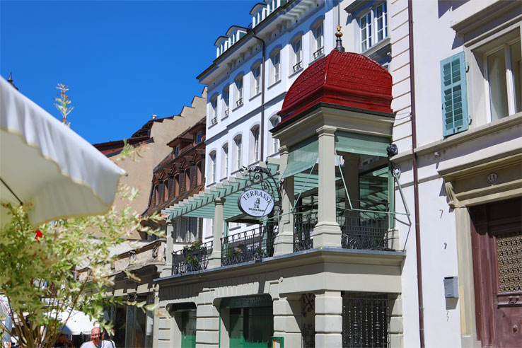 A historic hotel in the heart of Lucerne