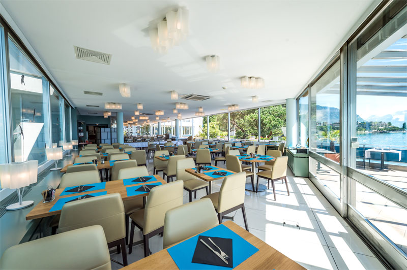 The Bel-Horizon restaurant is your breakfast venue