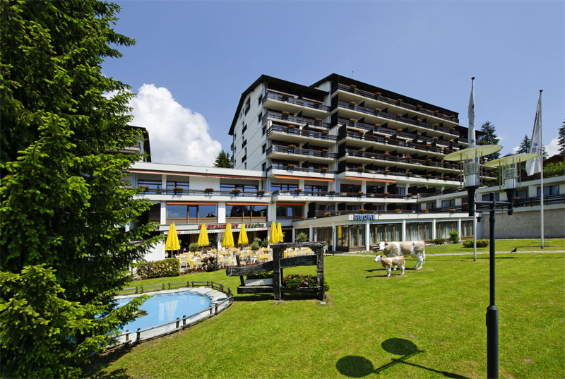 The Eurotel Victoria hotel in Villars