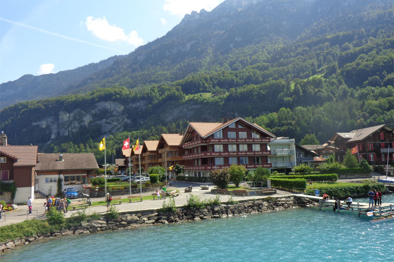 Bönigen on Lake Brienz