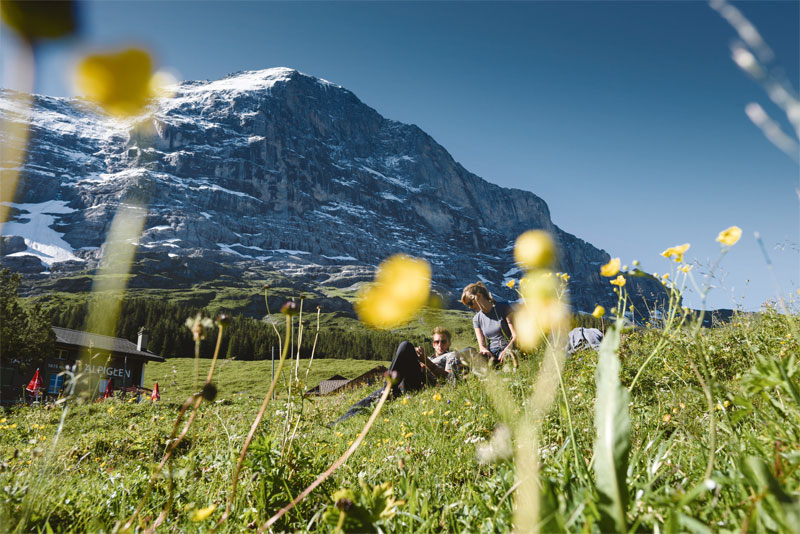 Kleine Scheidegg and the Eiger