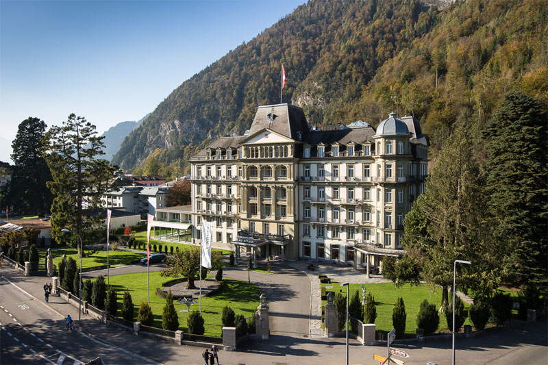 Hotel Beau Rivage, Interlaken