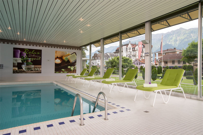 Hotel Beau Rivage, pool