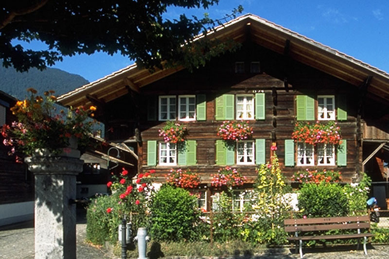 Traditional chalet, Wilderswil