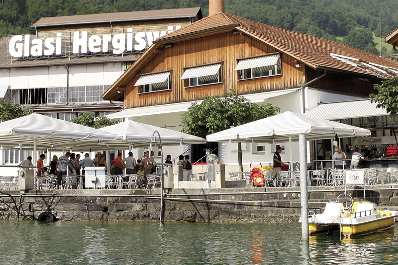 The Glass Factory on Lake Lucerne
