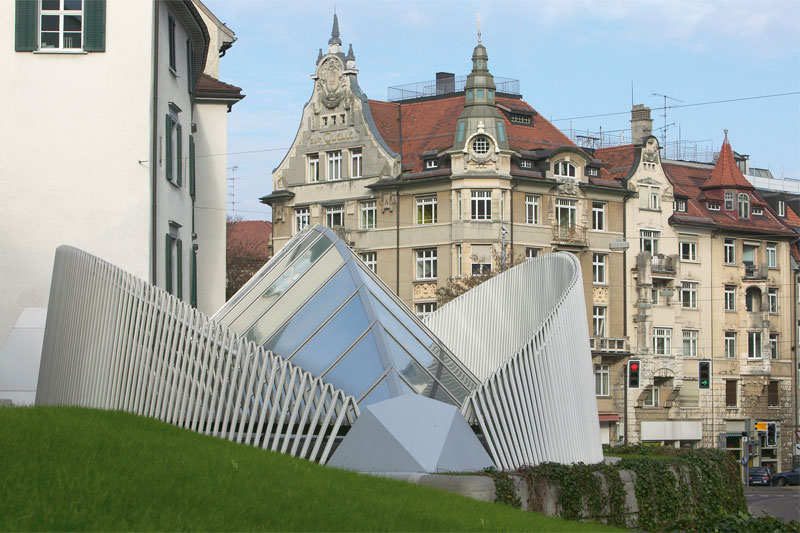 St. Gallen sculpture