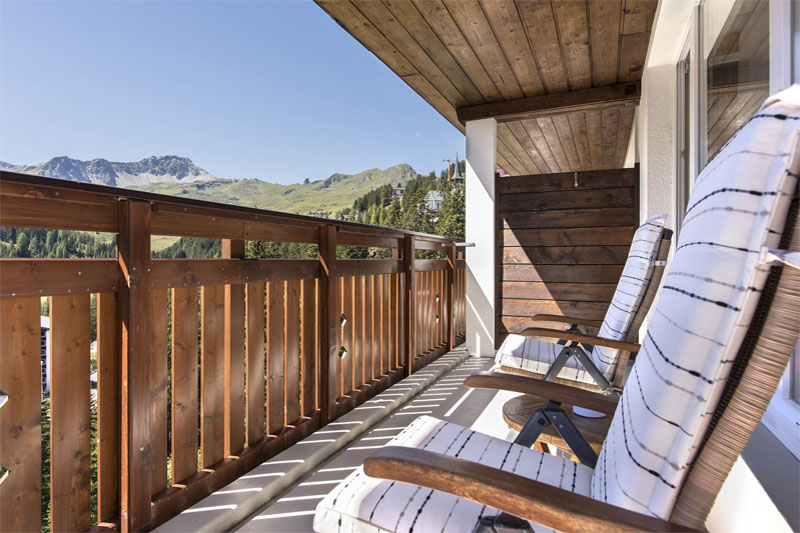 Sunstar Hotel Arosa, room with balcony