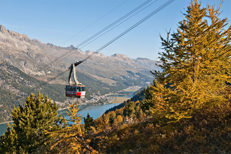 Corvatsch in autumn