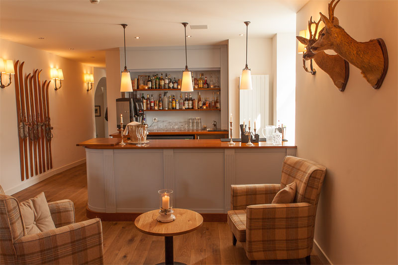 Hotel Bellevue Wiesen, bar