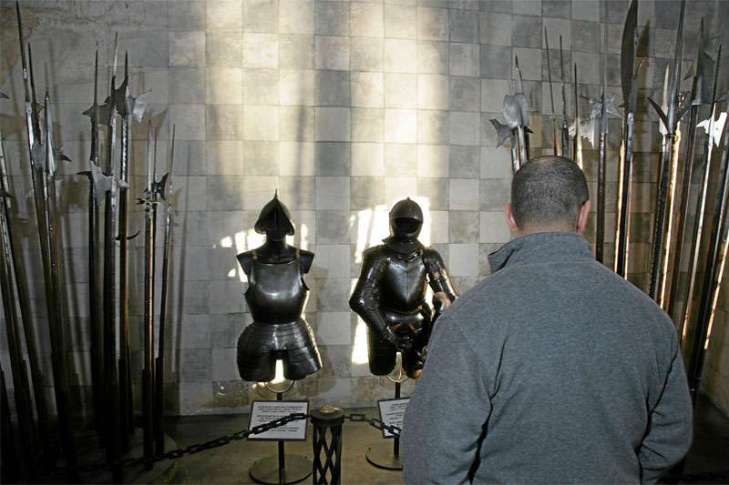 Armour at Chillon Castle