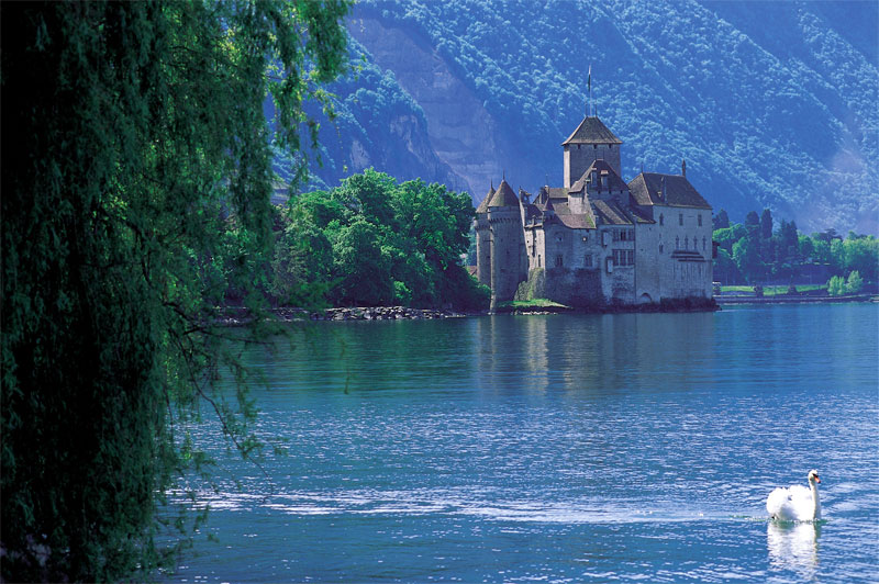 Summer at Chillon Castle