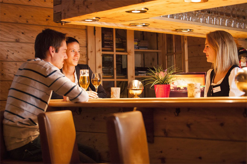 Sunstar hotel Saas-Fee, bar