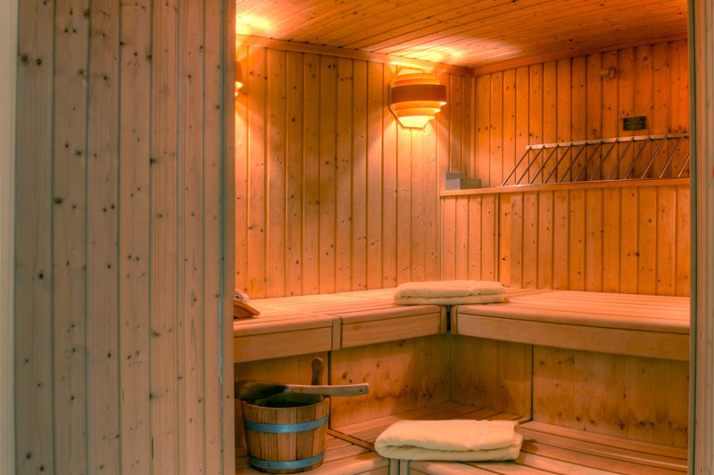 Sunstar hotel Saas-Fee, sauna