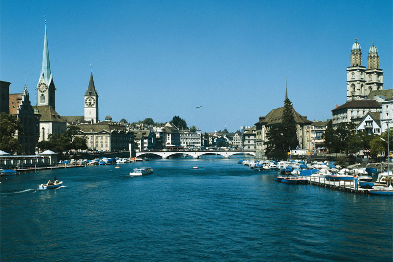 Zurich is an attractive city