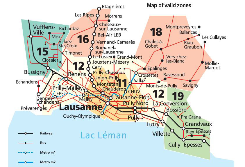 Lausanne Mobilis Card – Free Local Travel | Swiss Holiday Company