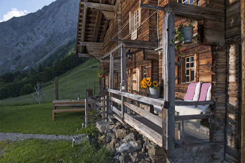 Typical chalet in the Adelboden region