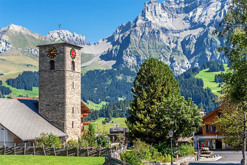 The village of Adelboden