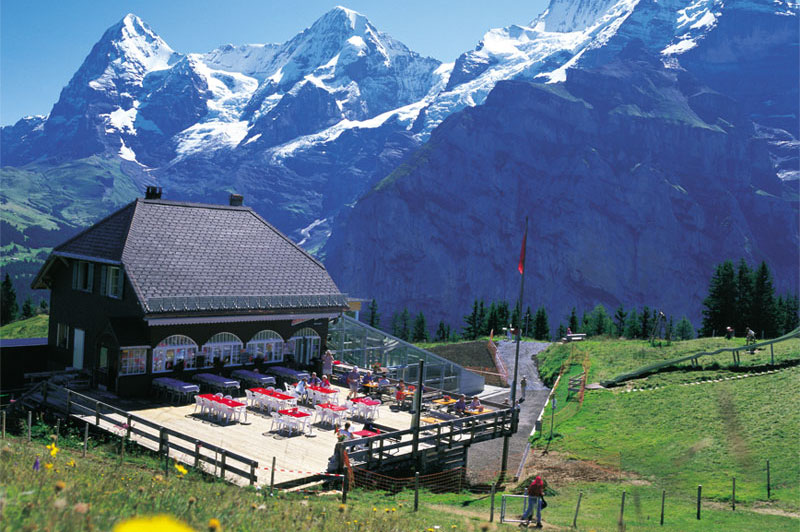 Mountain restaurant, Allmendhubel