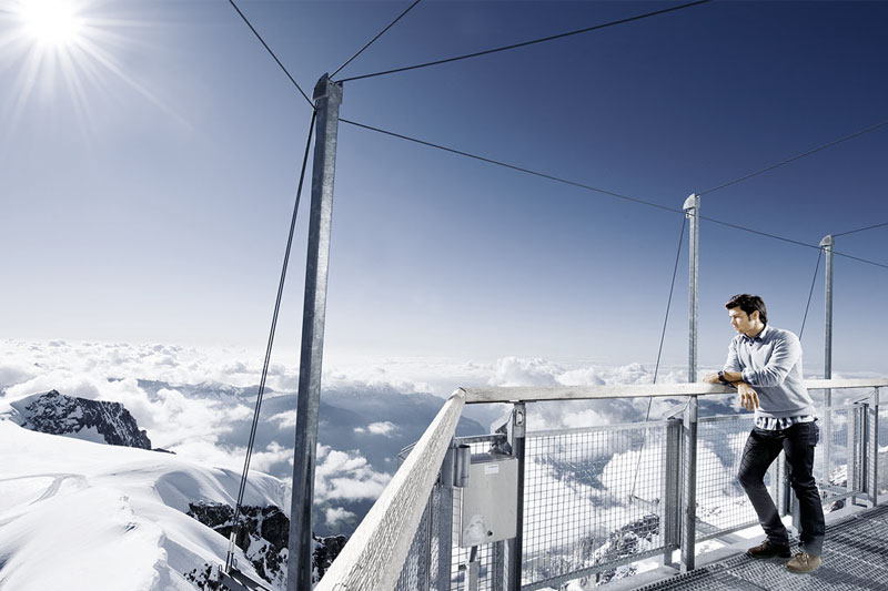 Jungfraujoch viewing platform