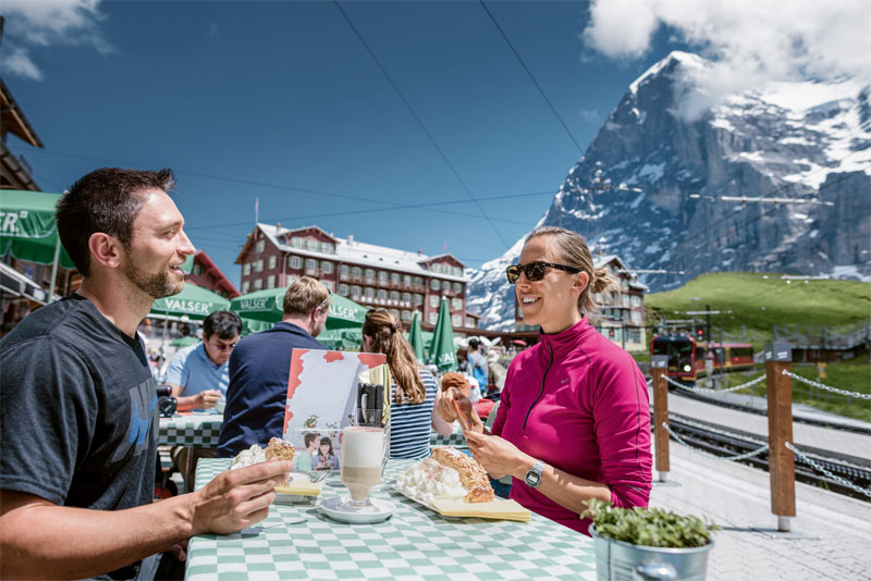 Lunch at Kleine Scheidegg