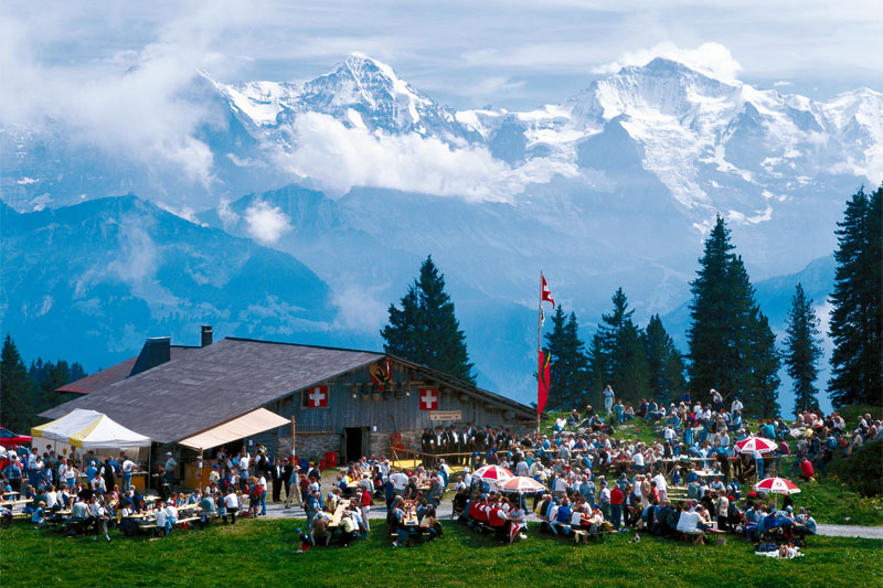 Festival on the Niederhorn