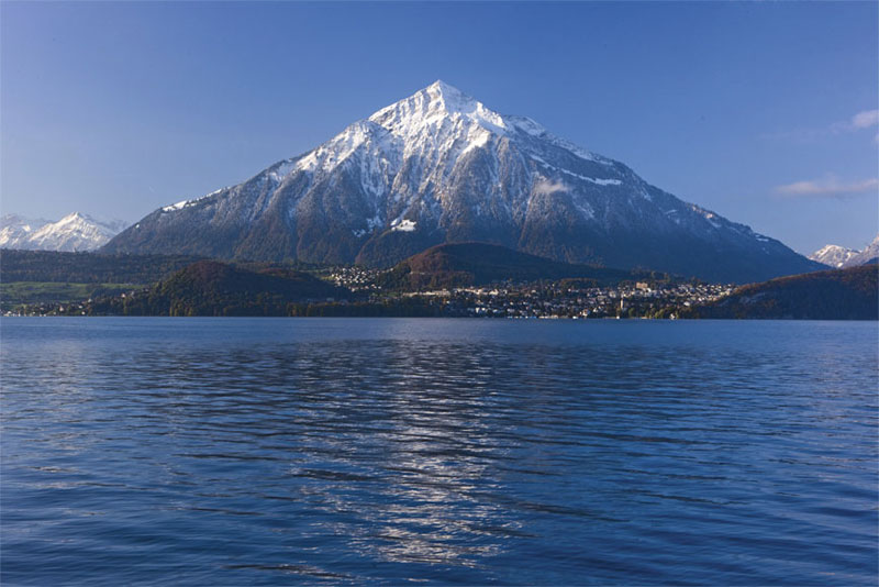 Iconic Niesen mountain