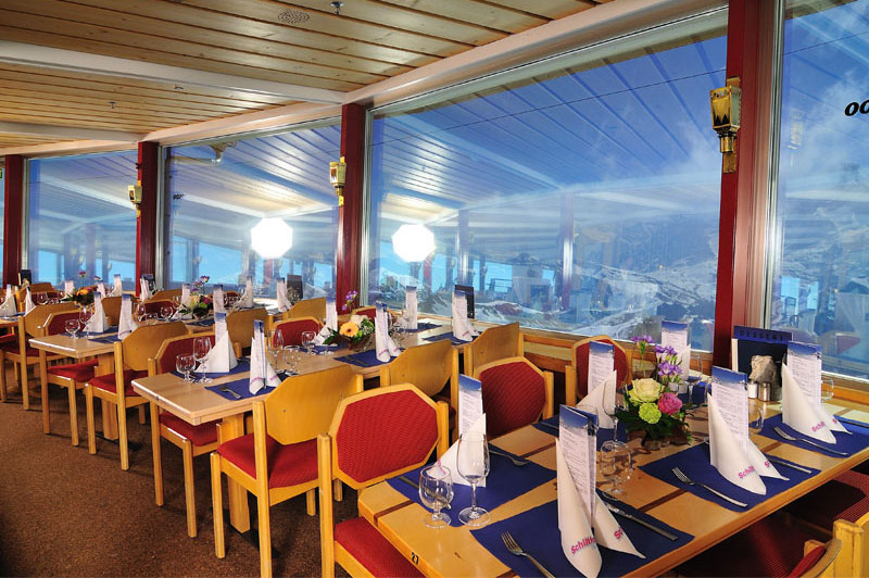 Revolving restaurant at the Schilthorn-Piz Gloria