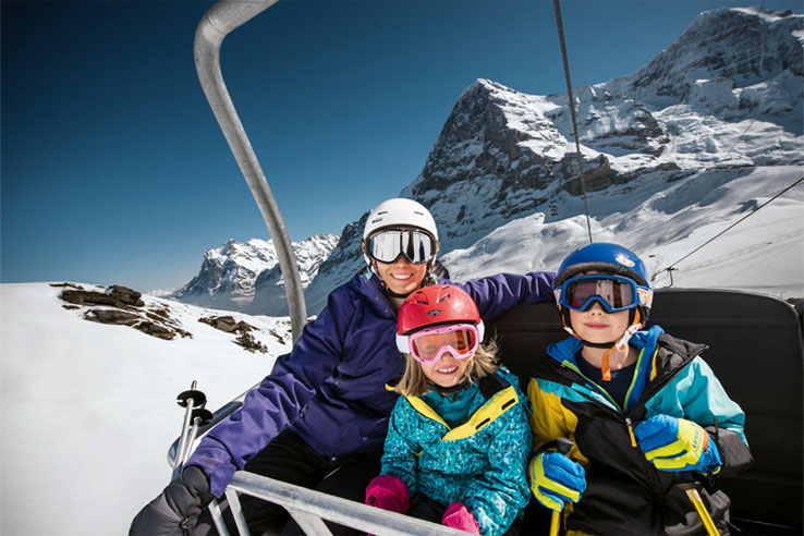 Family holiday in the Jungfrau region