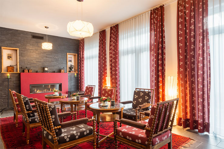 Relax in the lounge at the Carlton Europe